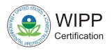 United States Environmental Protection Agency WIPP Certification Logo