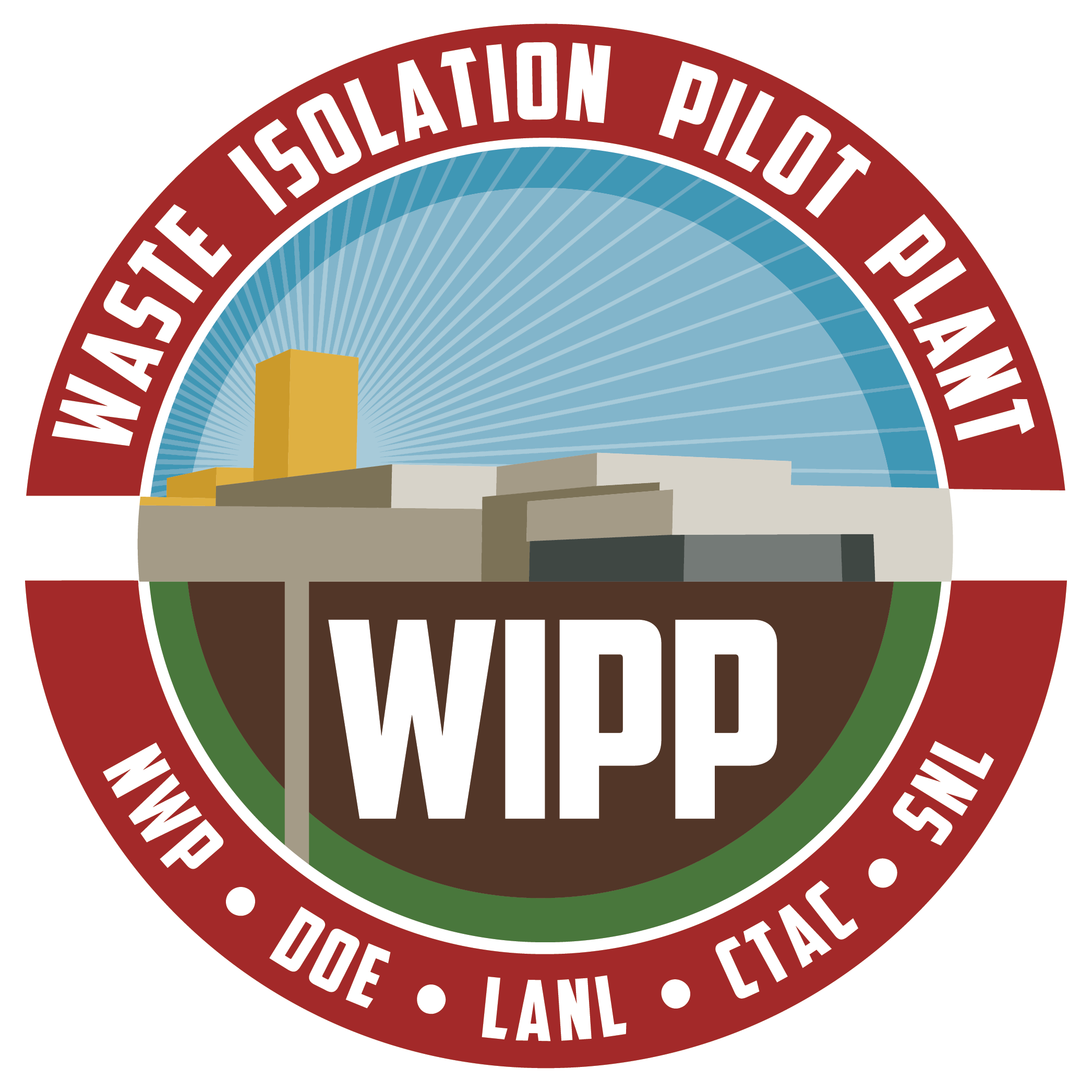 Waste Isolation Pilot Plant WIPP Logo