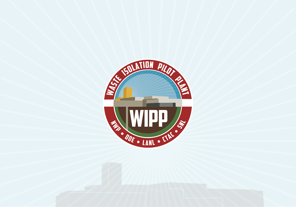 Photo of WIPP Logo