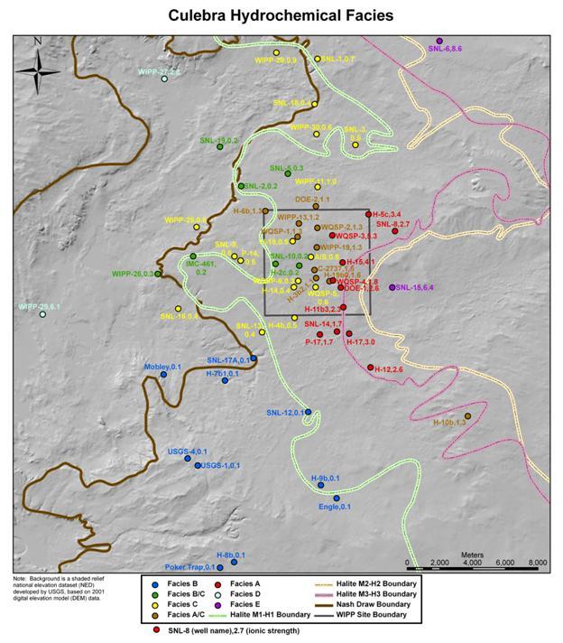 figure hydro 49 culebra hydrochemical facies
